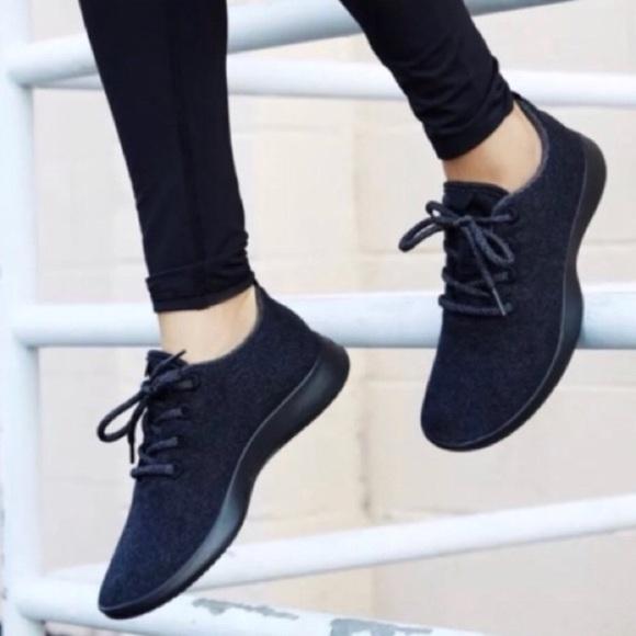 Nwob Allbirds Womens Natural Black Wool